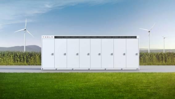 Apple будет использовать батареи Tesla Megapack на своей солнечной ферме