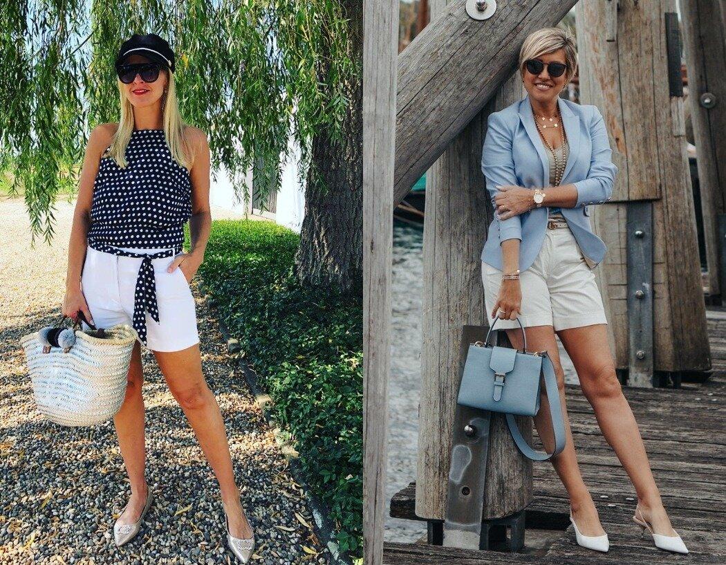 Смело, стильно, современно: летние образы для зрелых женщин