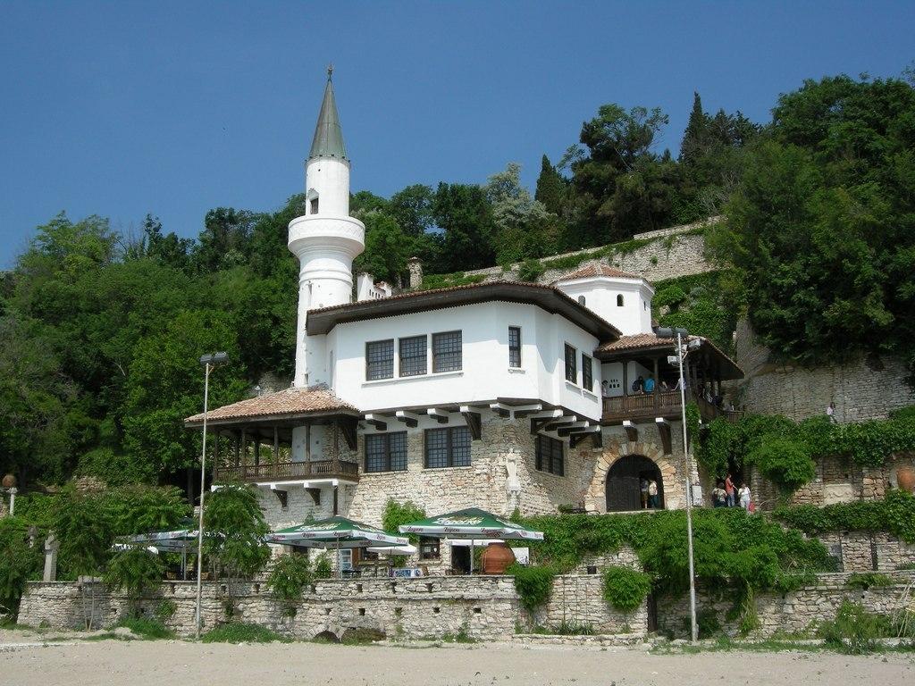 Курортный городок Балчик в Болгарии
