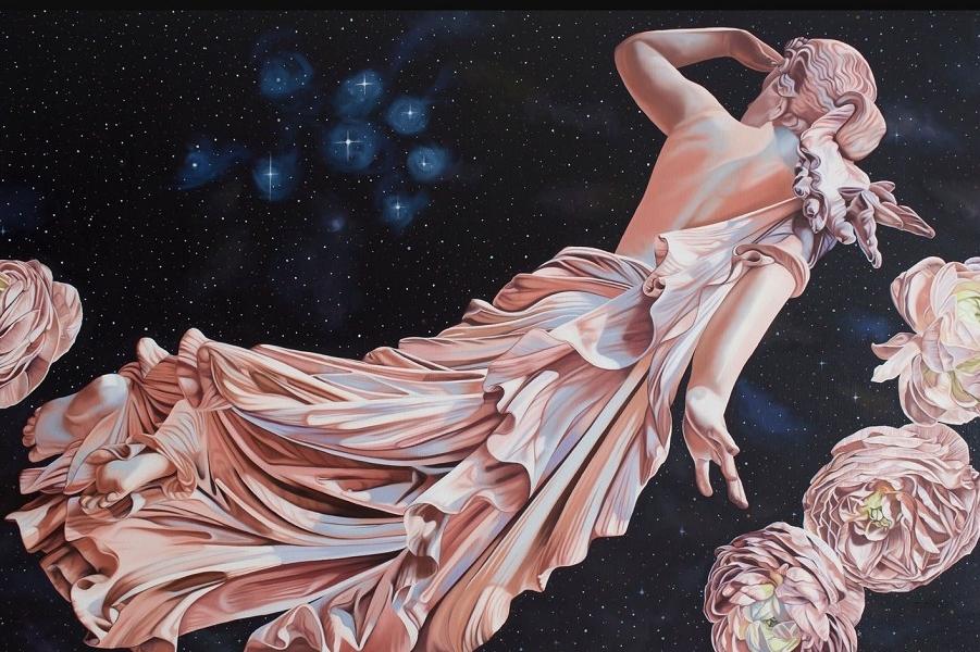 Прекрасные женщины эллинизма на современных картинах
