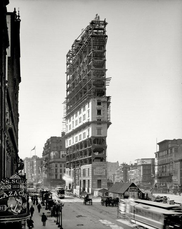 Таймс-сквер, Нью-Йорк, 1903