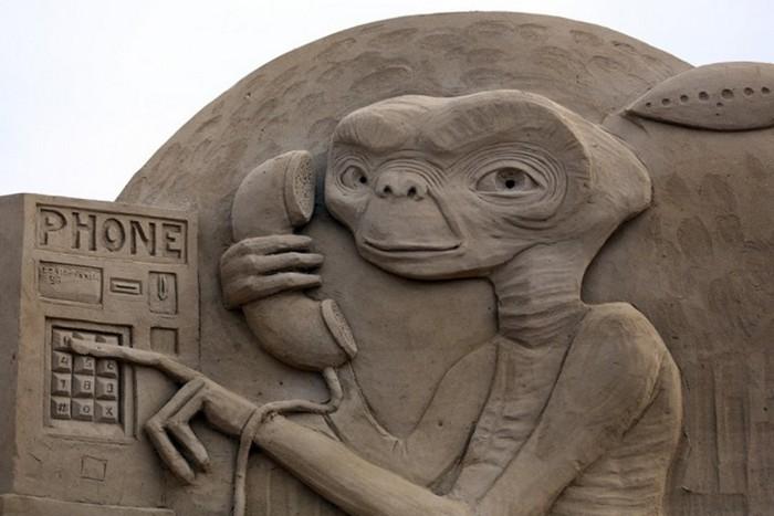 Weston Sand Sculpture Festival: ударим песком по бездорожью и поп-культуре!