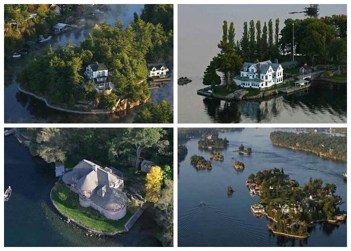 Все острова, имеющие площадь больше 300 кв. метров заселены людьми (Архипелаг «Тысяча островов»). | Фото: relaxic.net.