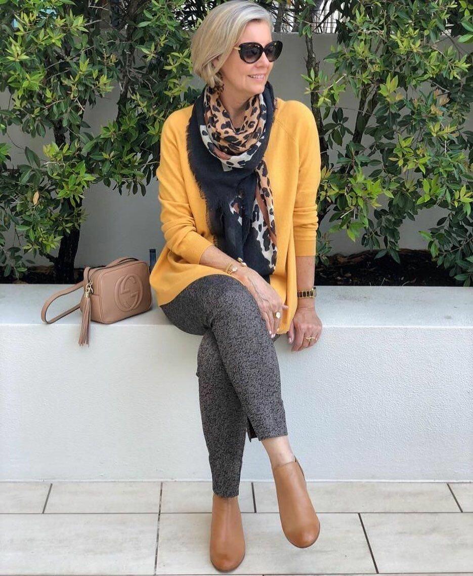 Удачно совмещаем возраст и моду, и в 60 лет находим свой стиль