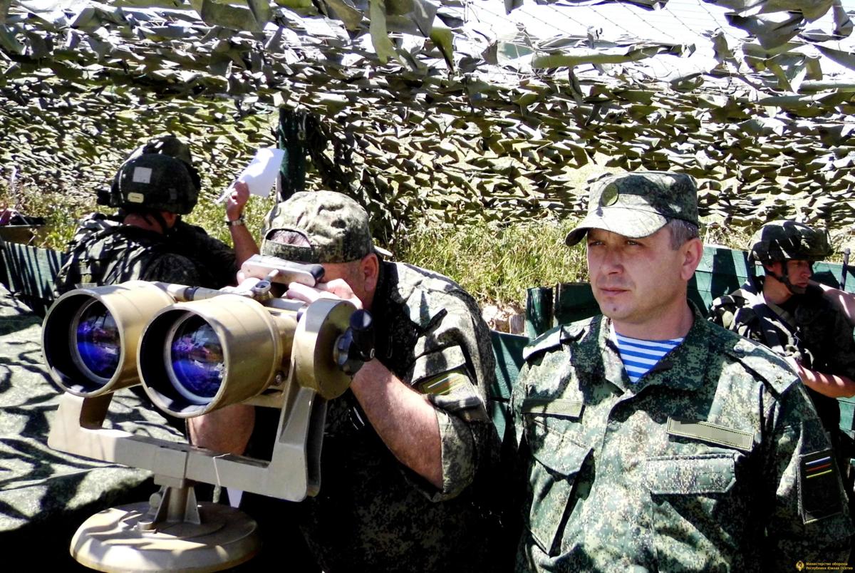Военные учения России в Южной Осетии. Источник изображения: https://vk.com/denis_siniy