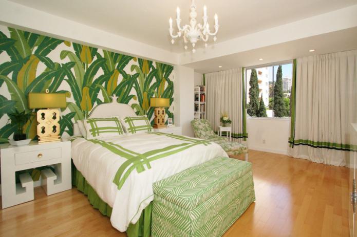 пальмовые листья