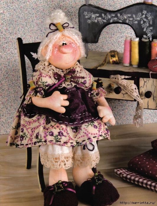 Бабульку Линдочку сшить не хотите?