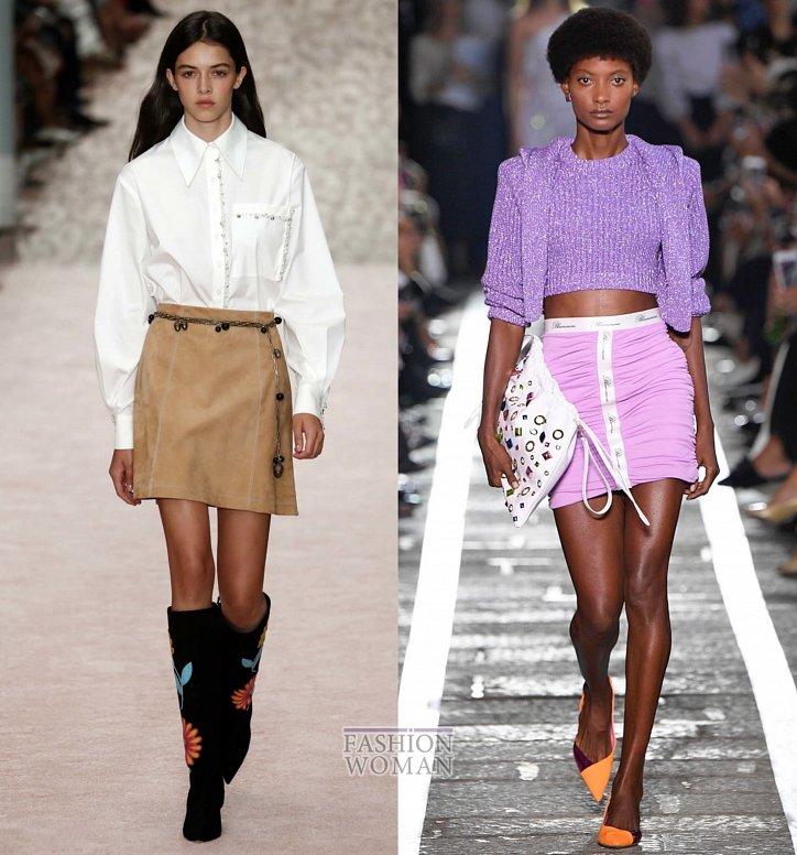 Модные юбки весна-лето 2019 фото №39