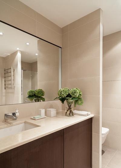 Современный Ванная комната by Dina Salakhova