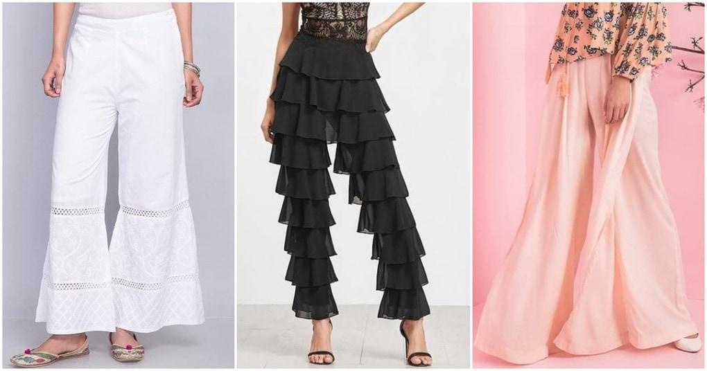 26 видов брюк палаццо для комфортного и модного образа