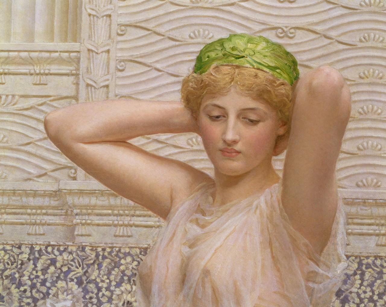 Английский художник-прерафаэлит Альберт Мур (4 сентября 1841— 25 сентября 1893)