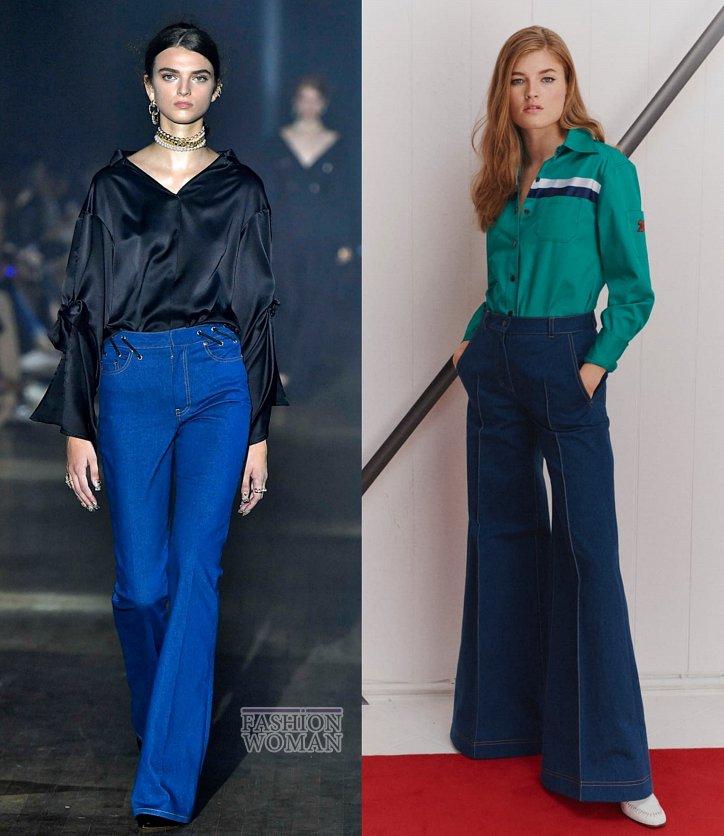 Модные джинсы весна-лето 2019 фото №28