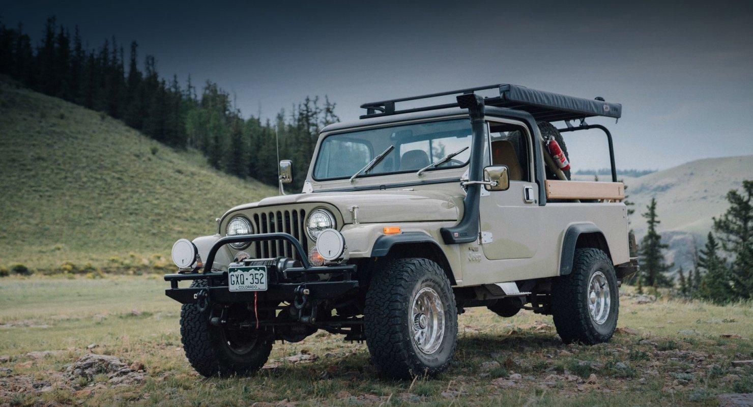 Фабрика одежды возродила Jeep CJ-8 Scrambler для путешествий Автомобили