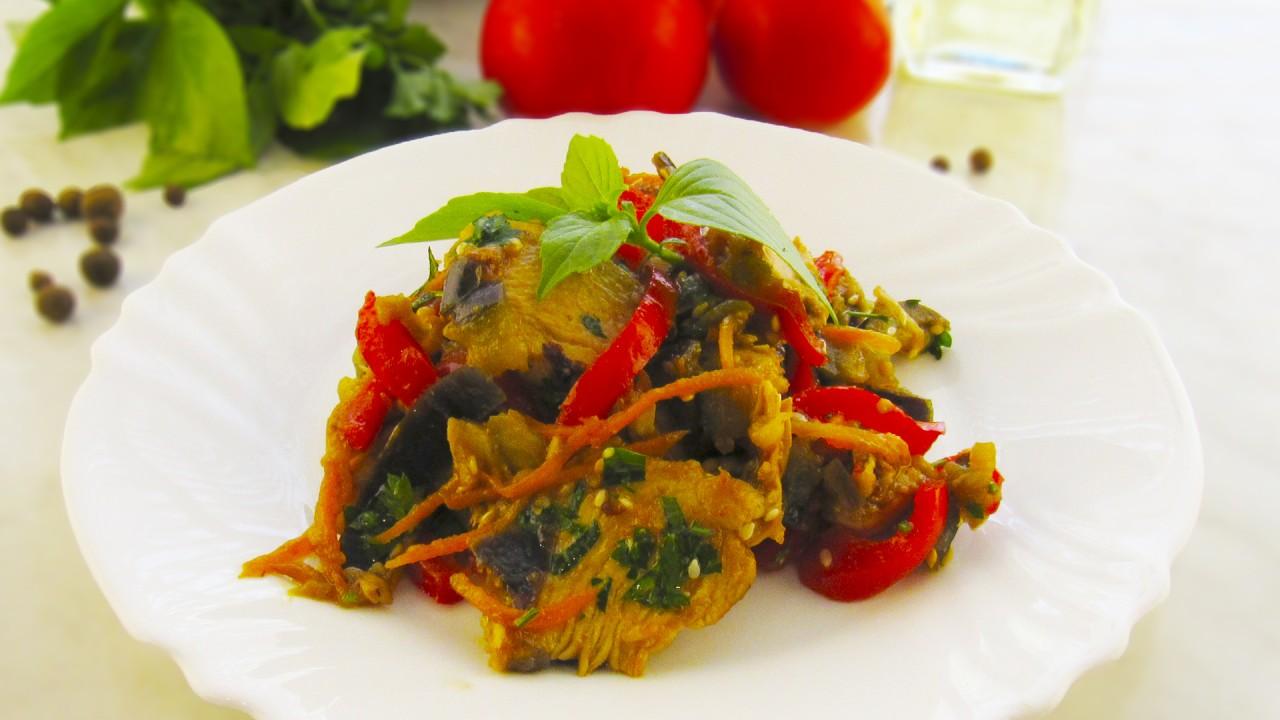 Обалденный мясной салат с ба…