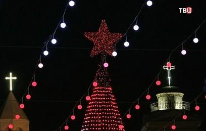 Католики всего мира отмечают праздник Рождества Христова