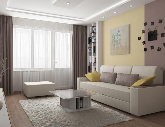 Белые цвета и оттенки способны визуально расширить границы помещения.