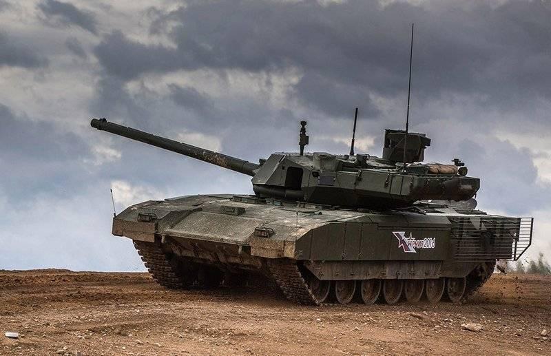 Ростех: Поставка бронетехники на платформе «Армата» в войска ещё не началась