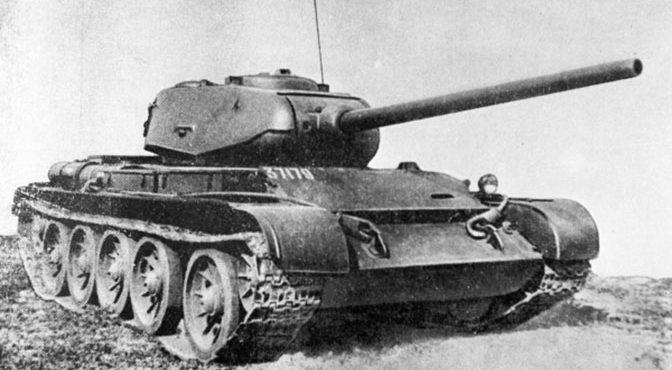 «Дедушка» Т-90: почему прорывной танк Т-44 не стал массовым