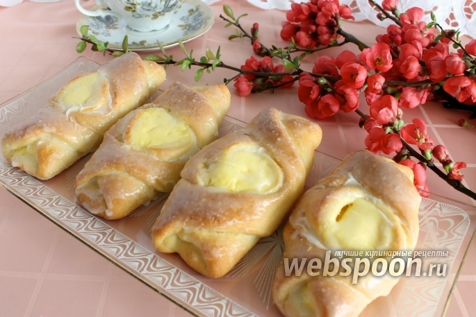 Пирожки на кефире в духовке с яблоками рецепт с фото
