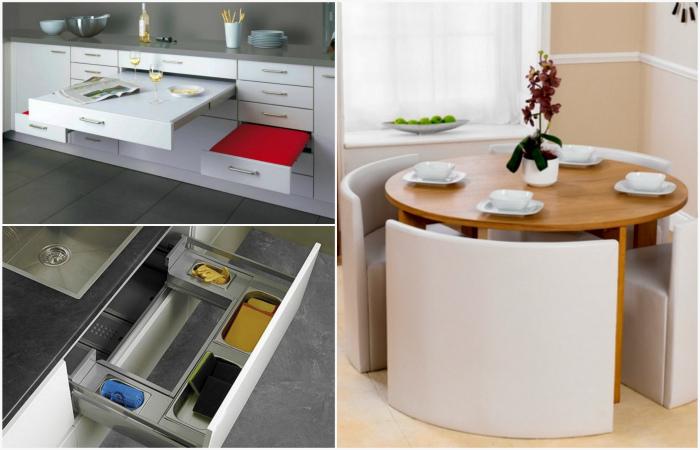 Дизайнерские приемы помогут рационально разместить вещи в доме, даже если места почти нет
