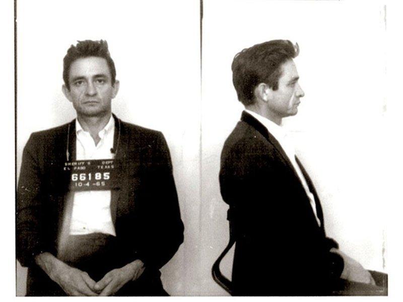 Джонни Кэш. 1965 год. Перевозка запрещенных препаратов. арест, звезды, полиция, правонарушение