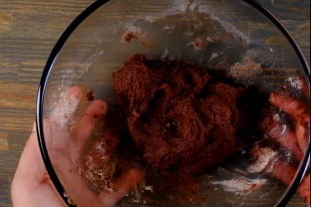 Безумно вкусный заливной шоколадный тарт с персиками. Аромат на весь дом.