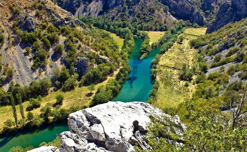 Зрманя - самая красивая река Хорватии