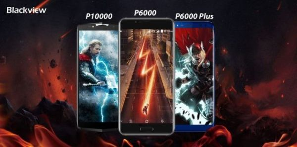 Blackview P6000, P6000 Plus и P10000