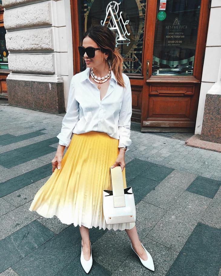 модные юбки 2019 фото 7