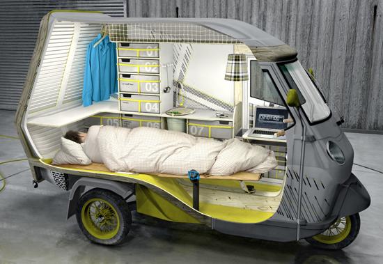 Буфалино - дом на колесах для одинокого туриста