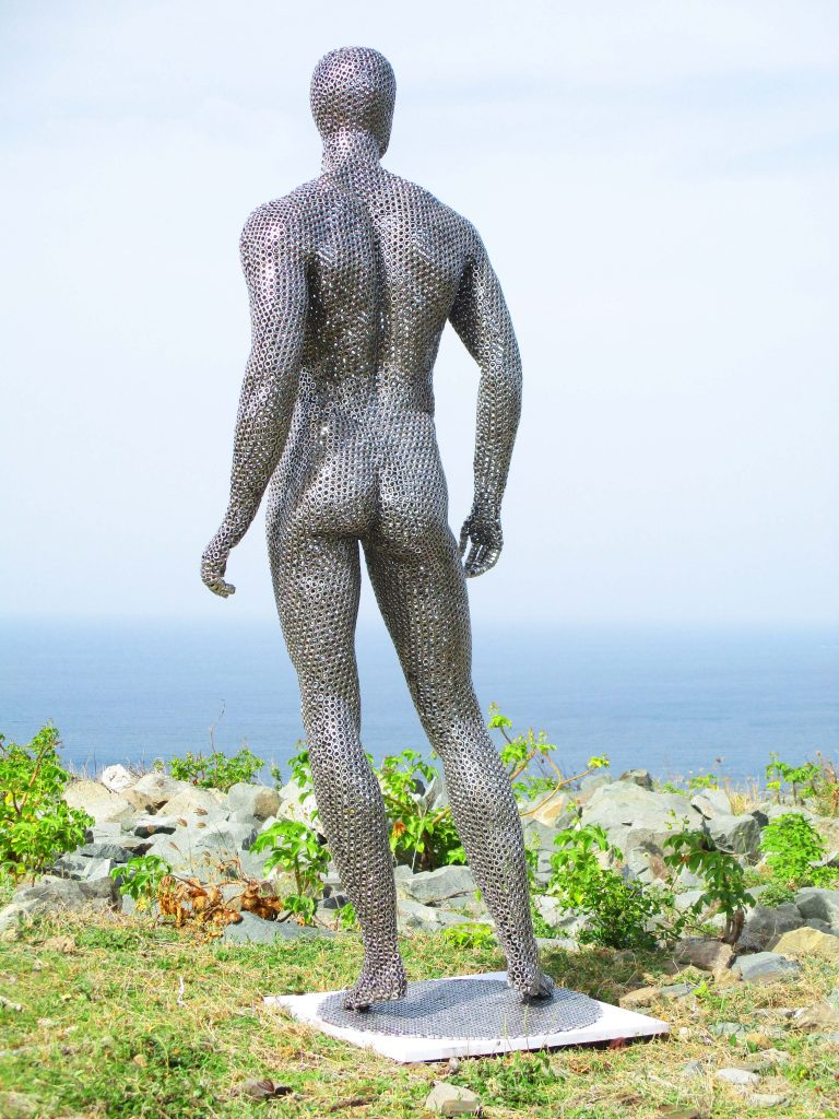 Художник Jean Martin - скульптуры из гаек скульптура