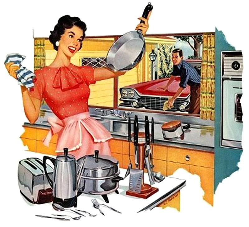 Смешные картинки о женщинах-хозяйках