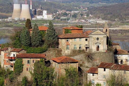 15. Кастельнуово де Саббиони, Италия города-призраки, заброшенные города, загадки, тайны, фото