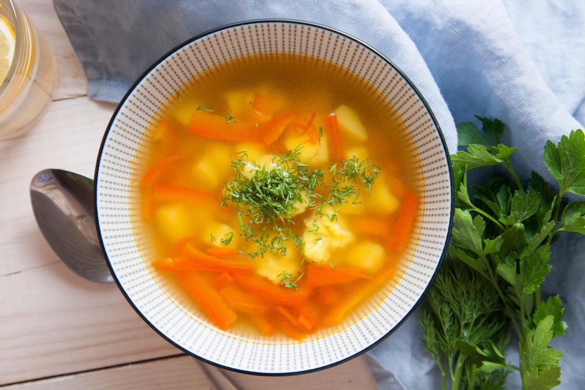 рецепты супов с фото пошаговыми