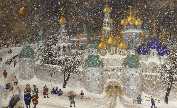 художник Василий Ситников картины - 12