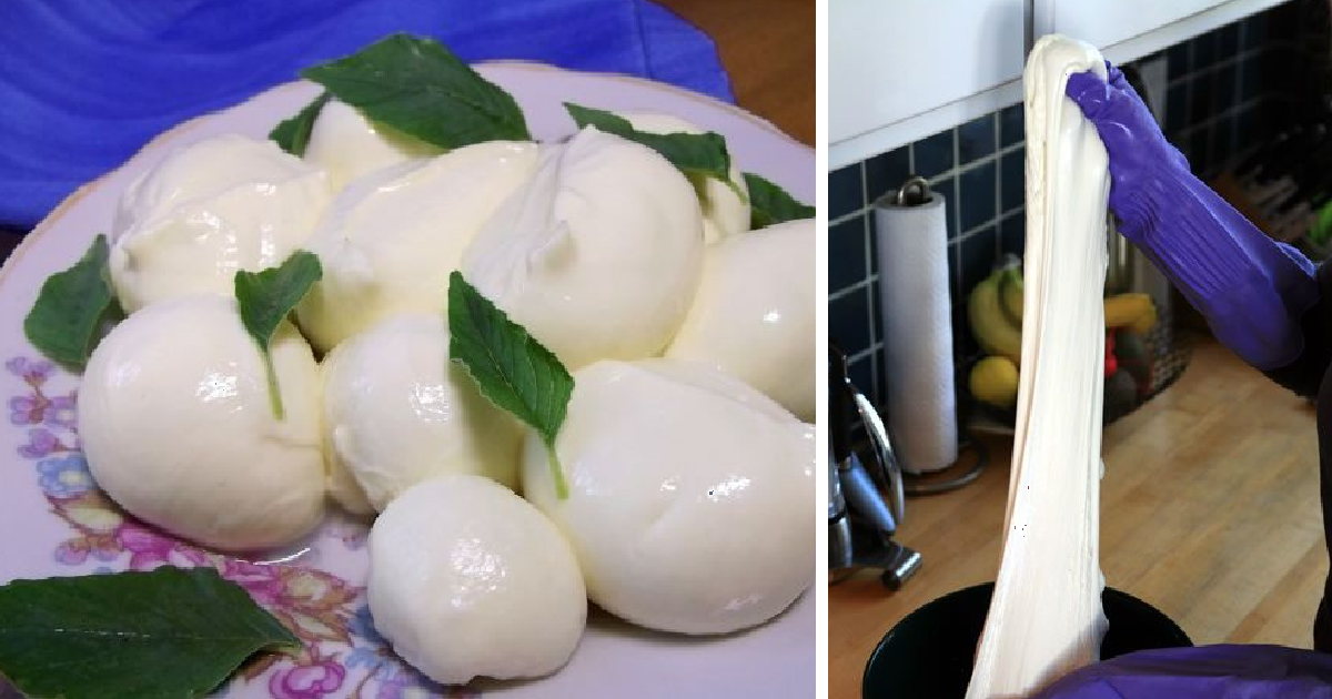 Не стоит переплачивать, ведь моцареллу можно приготовить дома