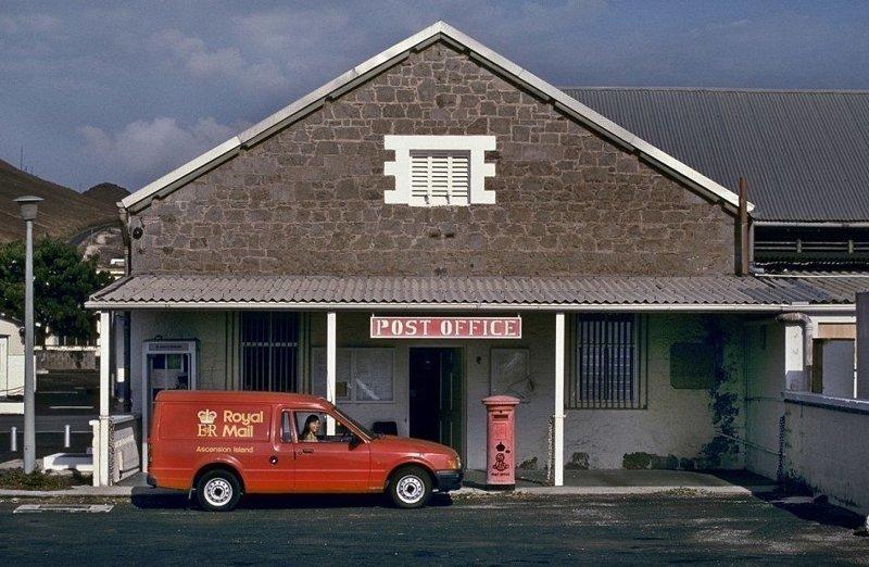 Остров Асеньсьон, южная Атлантика дальние края, дальня доставка, изнетесно, необычно, познавательно, почта, почтальоны, почтовые отделения