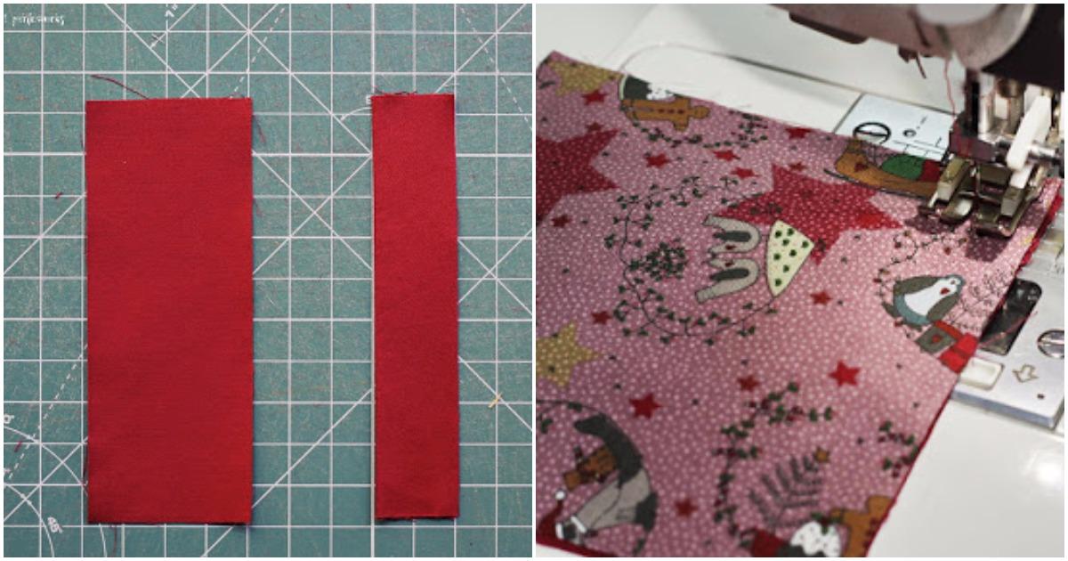 Лоскутки ткани помогли мастерице создать невероятно милый и теплый новогодний декор