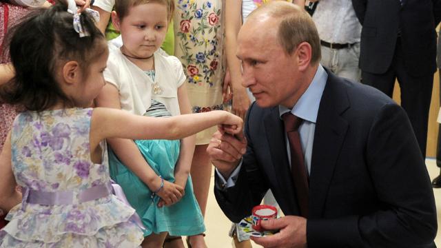 Сказка-быль о демографической политике Путина
