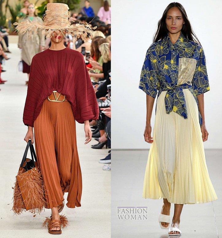 Модные юбки весна-лето 2019 фото №5