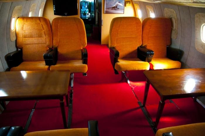 Как выглядел салон первого класса в советских самолетах(13 фото)