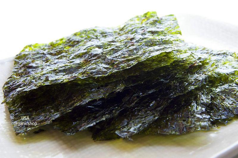 чипсы из водорослей