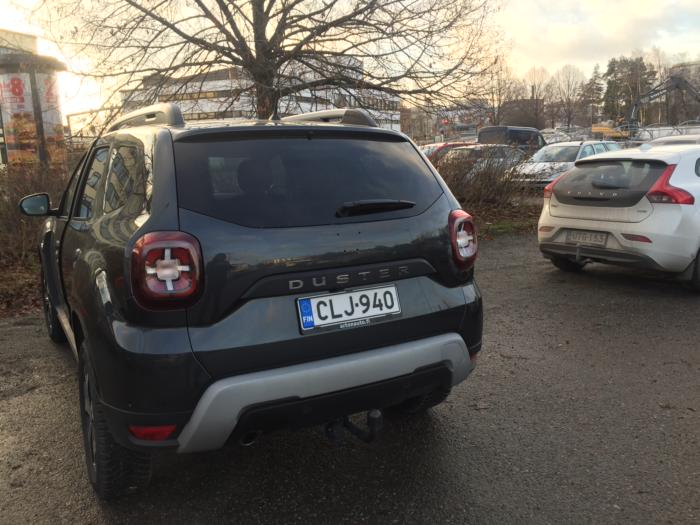 Ремонт машины по страховке в Финляндии дтп
