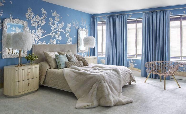 Лучшие цвета для оформления спальни: 18 красивейших комнат