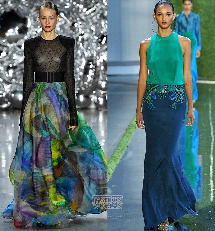 Модные юбки весна-лето 2019 фото №17