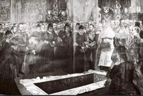 Почему усопших русских царей не предавали земле?