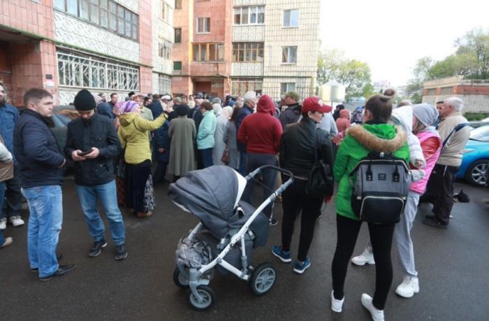 В Казани народ бунтует против мечети