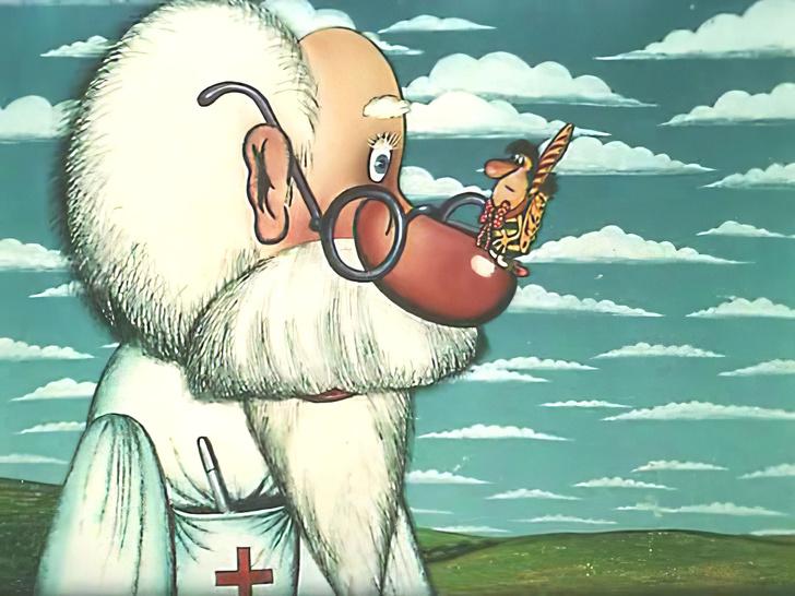 Доктор айболит из мультика картинки