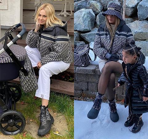 Модная битва: Яна Рудковская против Кайли Дженнер