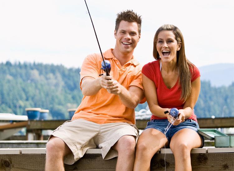 нас парень девушка на рыбалке девушки очень